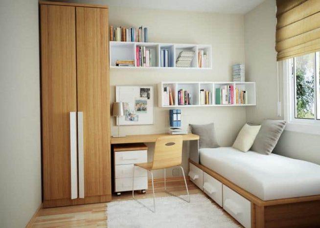 Простой интерьер комнаты