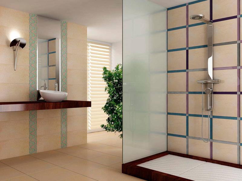 Шторы в интерьере ванной комнаты: примеры на фото