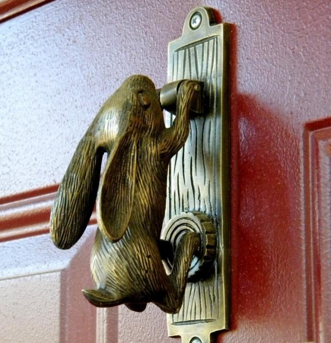 Старинная ручка на входную дверь