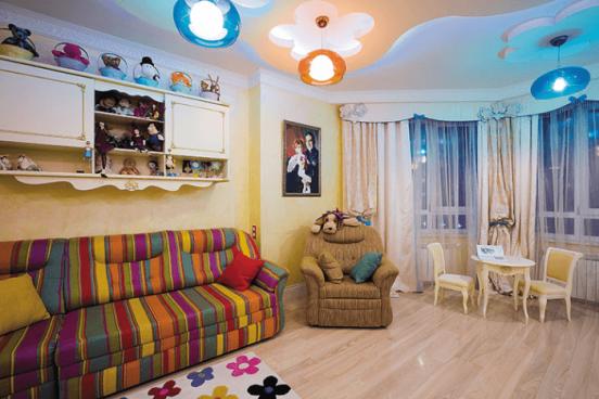 Фото детской комнаты в квартире Гарика Мартиросяна