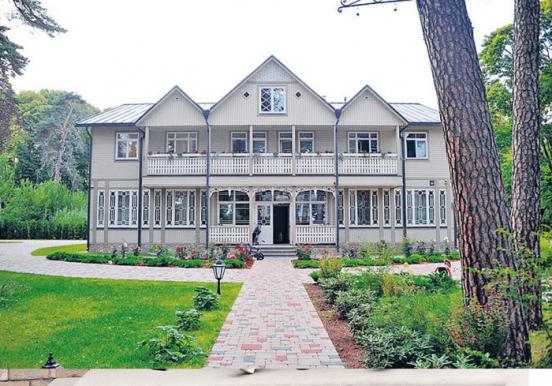 Дом Гарика Мартиросяна в Юрмале