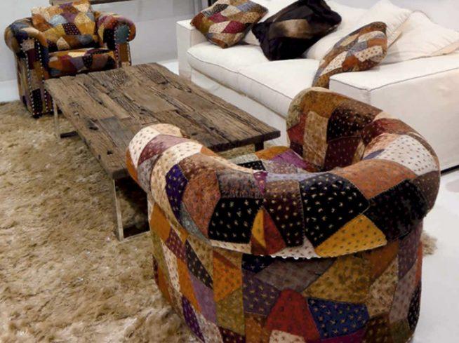 Кресла для дачи в деревенском стиле