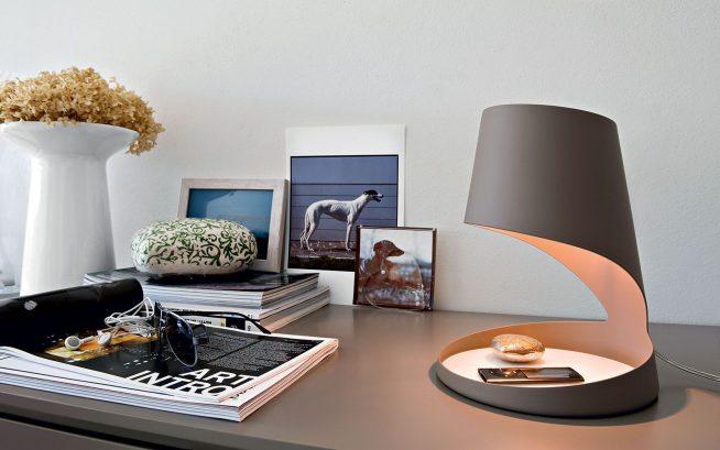 Настольная лампа авторского дизайна