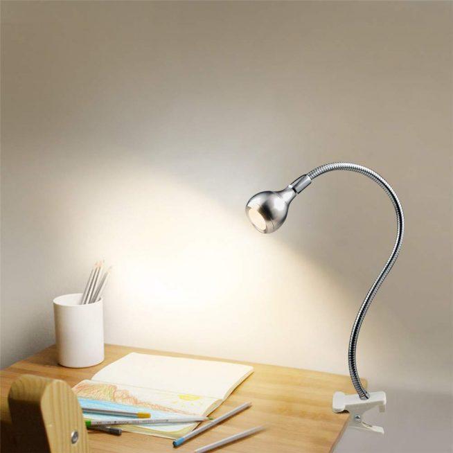 Гибкий светильник для школьника
