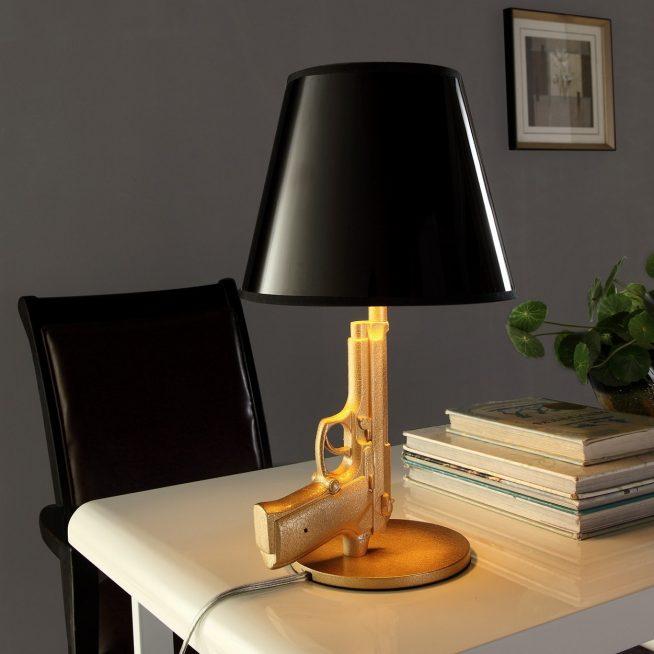 Настольная лампа авторского исполнения