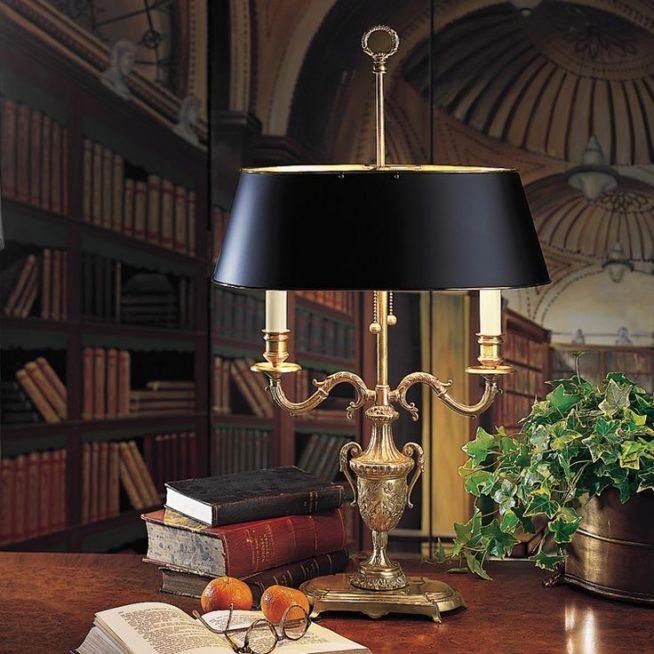 Настольная лампа в стиле викторианской эпохи