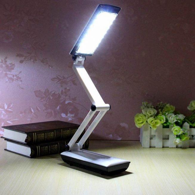 Пример складной светодиодной лампы