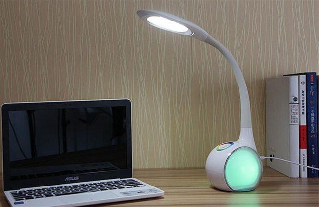 Настольная лампа с ночником