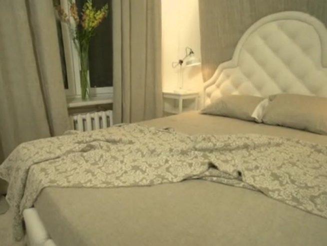Спальня в квартире Дмитрия Нагиева после ремонта