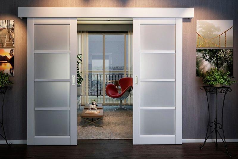 Раздвижные межкомнатные двери в интерьере: варианты использования
