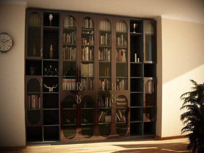 Шкаф, встроенный в нишу