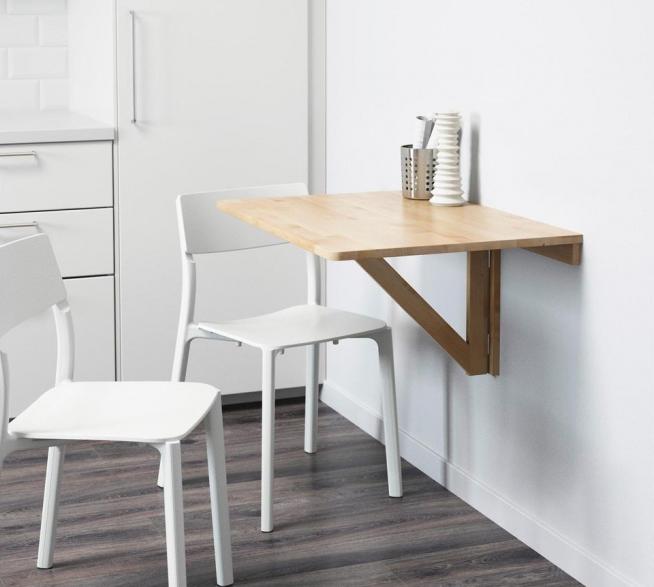 Самодельный откидной столик