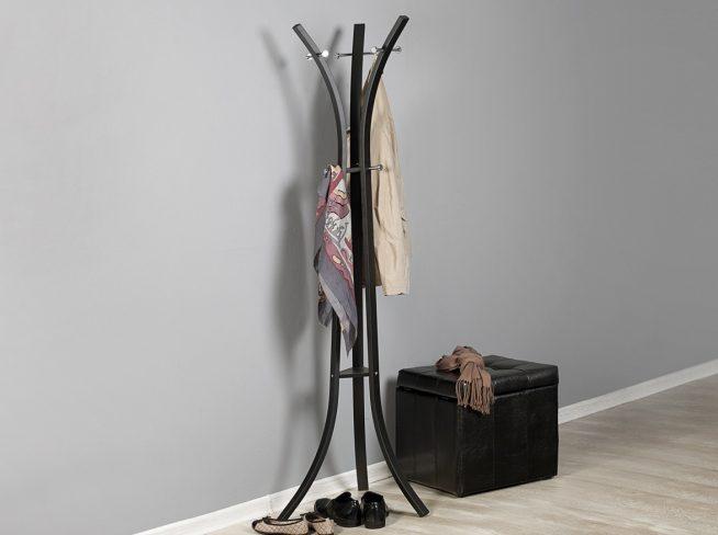Вертикальная металлическая вешалка