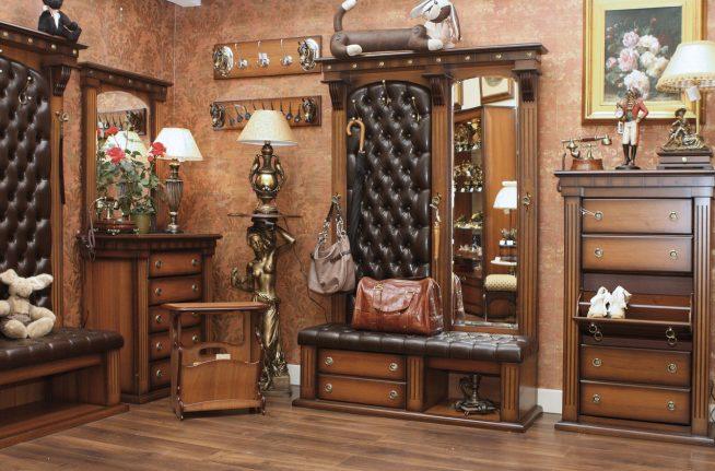 Мебельный гарнитур изысканного дизайна
