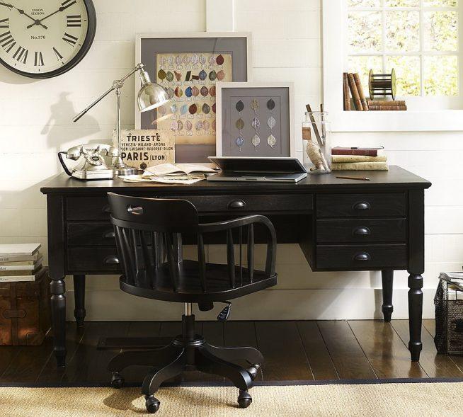 Деревянный мебельный комплект для кабинета
