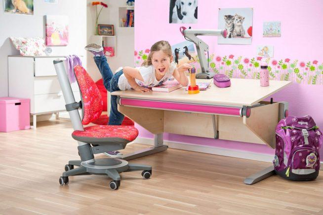 Детский стул для рабочего места младшего школьника