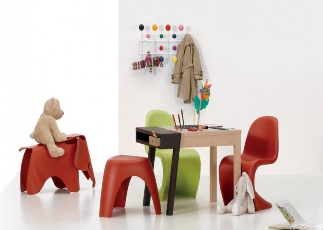 Оригинальные стульчики для детской игровой зоны