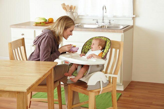 Компактный стульчик для ребёнка