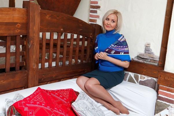 Василиса Володина в своей квартире