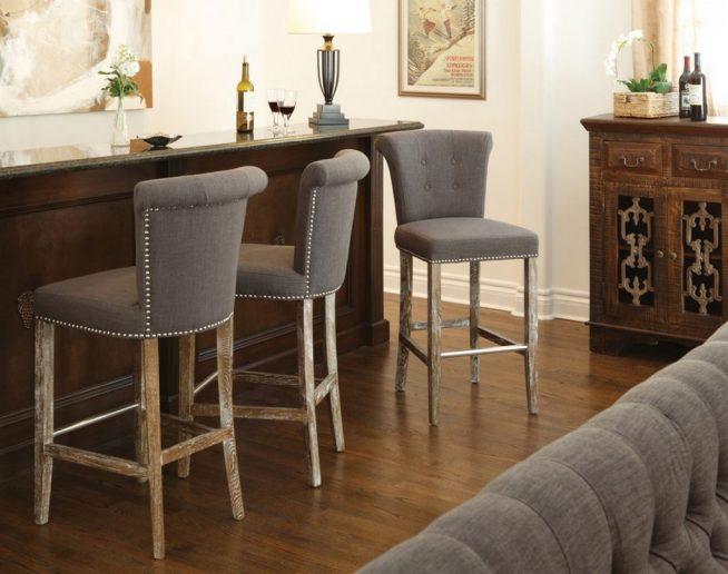 Мягкие стулья для барной стойки