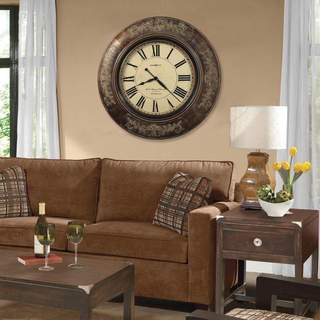 Традиционный дизайн настенных часов