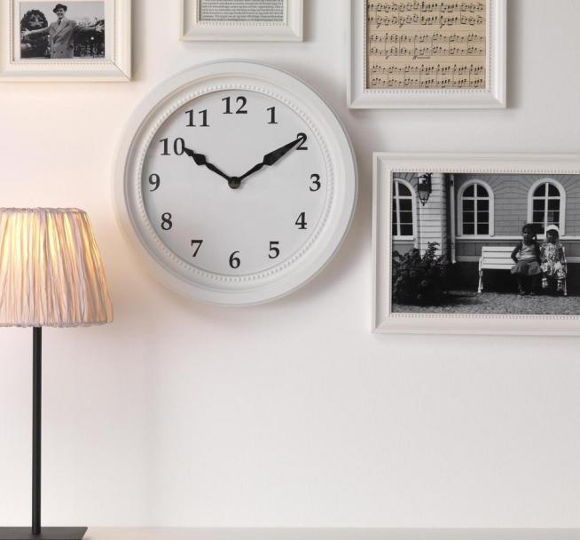 Традиционные круглые часы