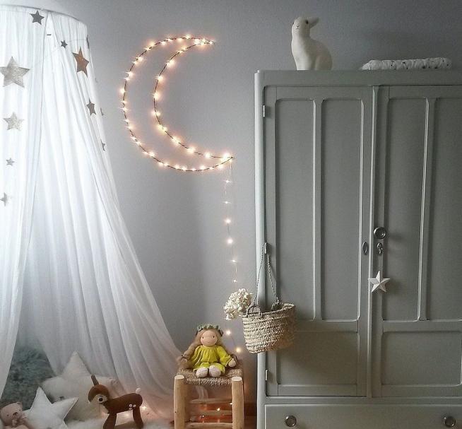 Настенный ночник в детской комнате