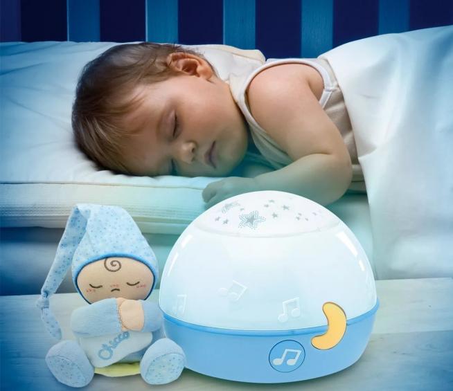 Вариант ночника у кроватки младенца