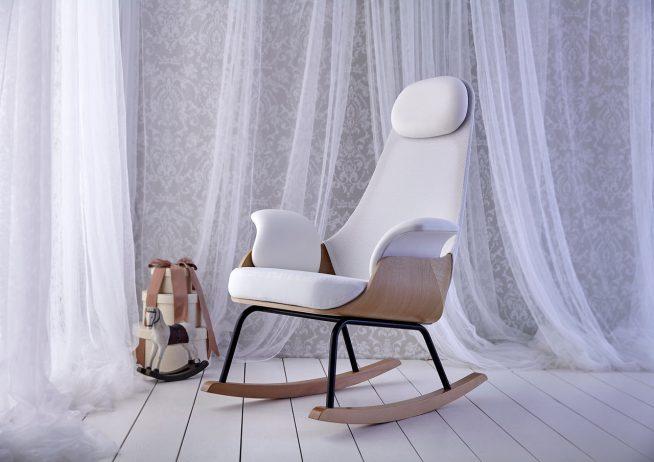 Стильное современное кресло-качалка