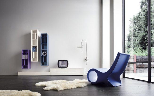 Дизайнерское кресло в стиле минимализм