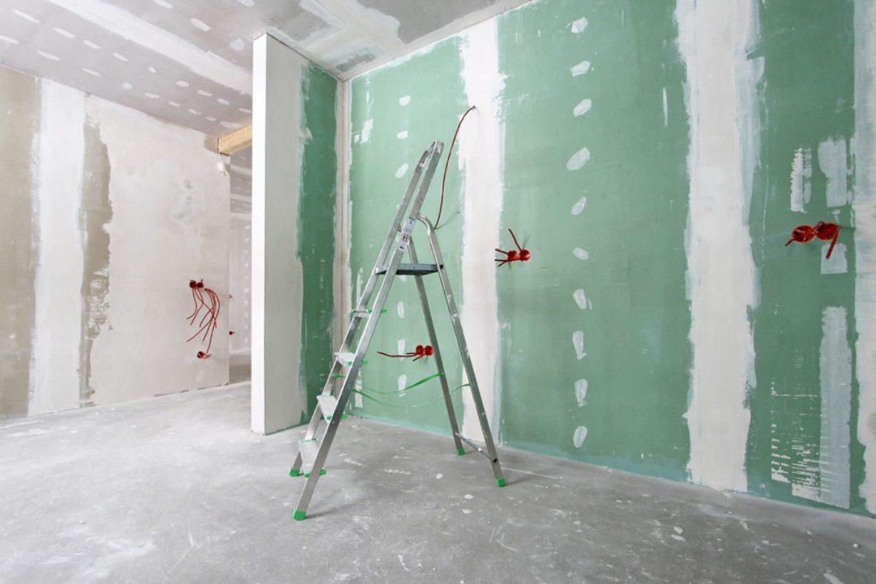 Крепление гипсокартона к стене без профиля: варианты монтажа