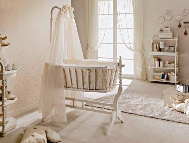 Оформление детской комнаты в стиле прованс