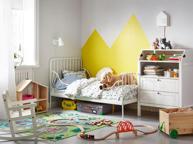 Металлическая кровать для дошкольника