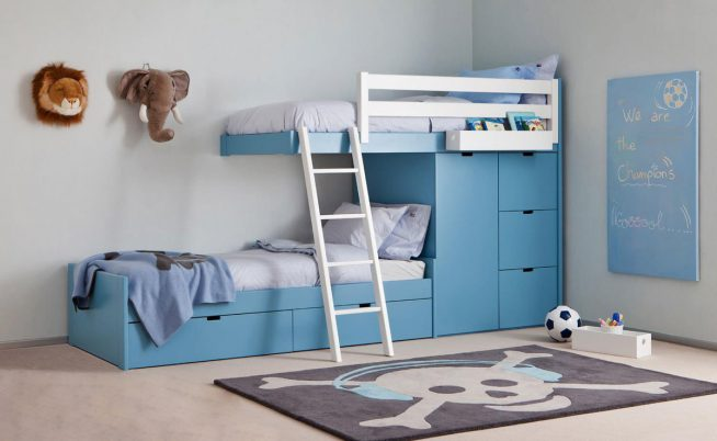 Кровати в спальню для детей разного возраста