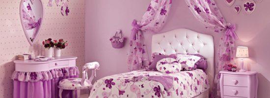 Кроватка в детской комнате