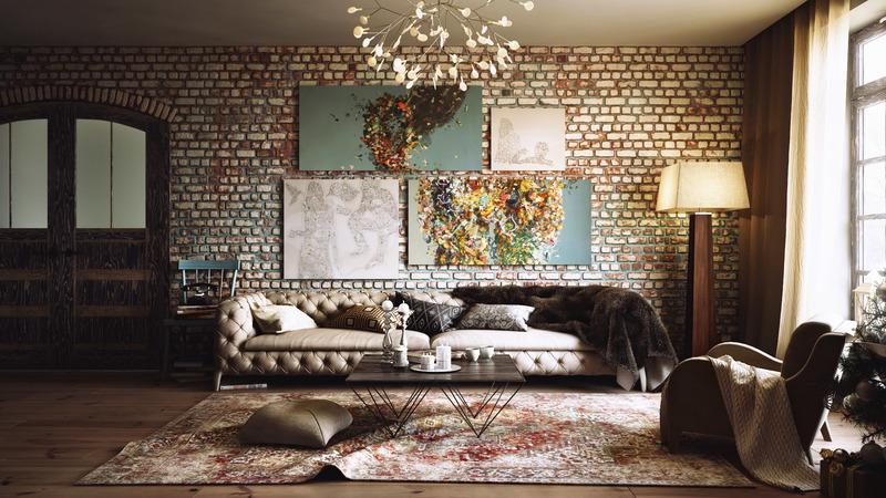 Кусочек жизни на стене: картины в интерьере квартиры