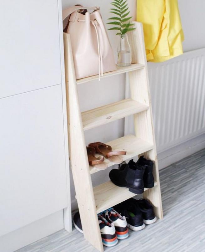 Самодельная подставка для обуви