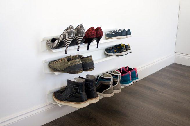 Полки для обуви в прихожей