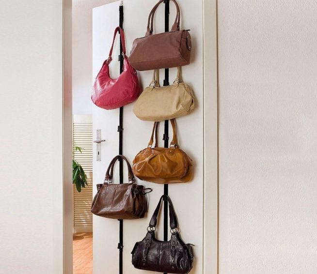 Самодельный держатель для сумок