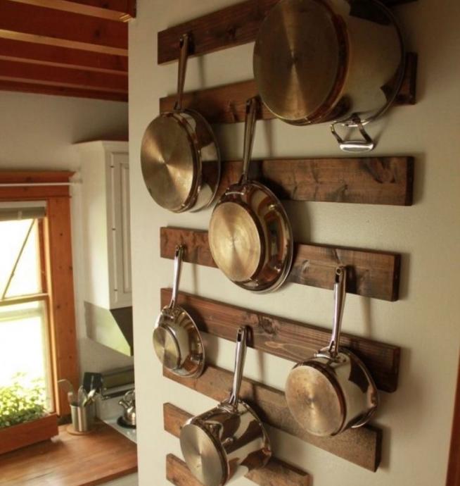 Хранение на кухне утвари