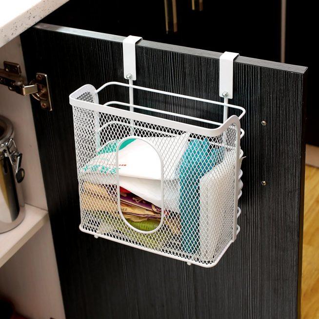 Хранение на кухне пакетов