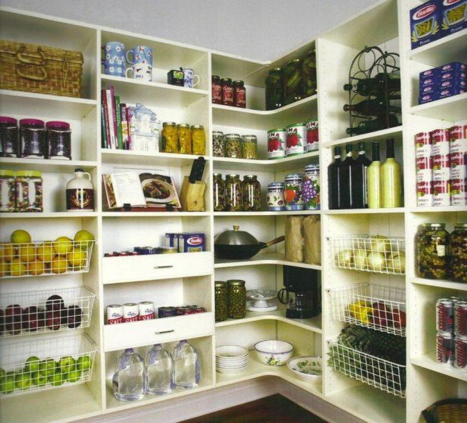 Хранение овощей в кладовке