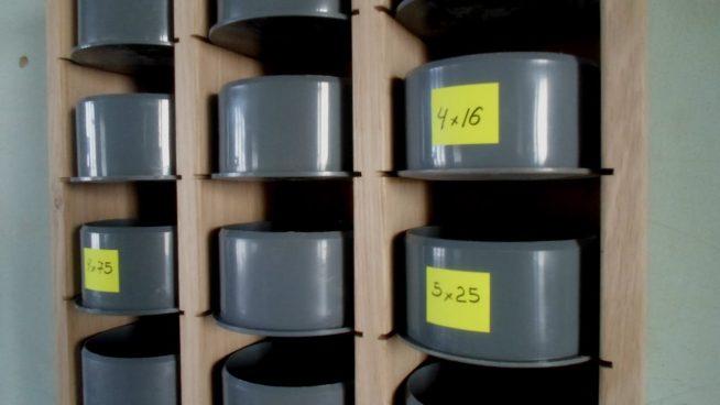 Самодельные контейнеры для гвоздей