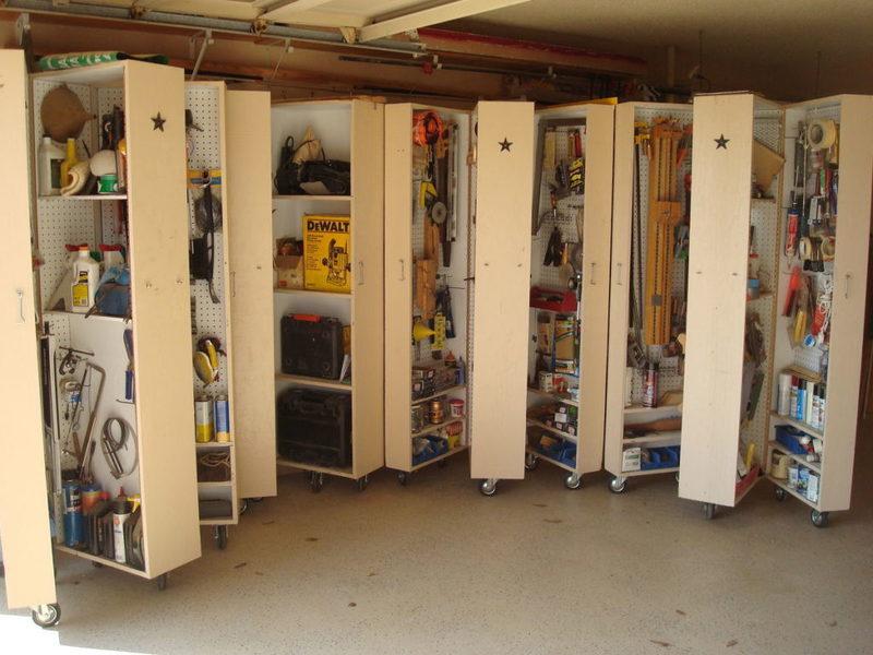 Организация хранения в гараже: подборка идей