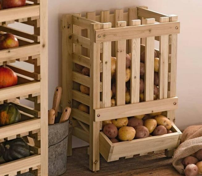 Ящик для хранения картофеля