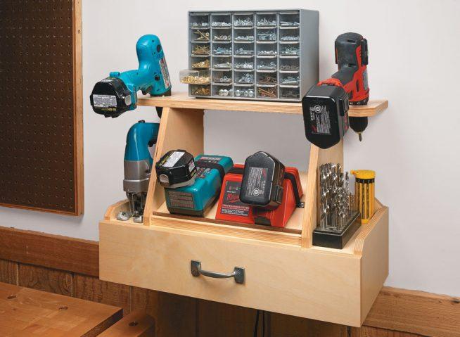 Самодельный шкаф для дрелей