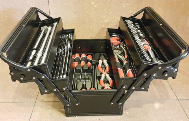 Раскладной ящик для инструментов
