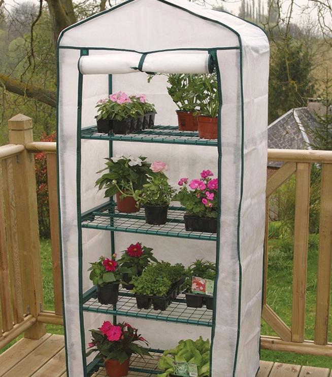 Парник для балконных цветов