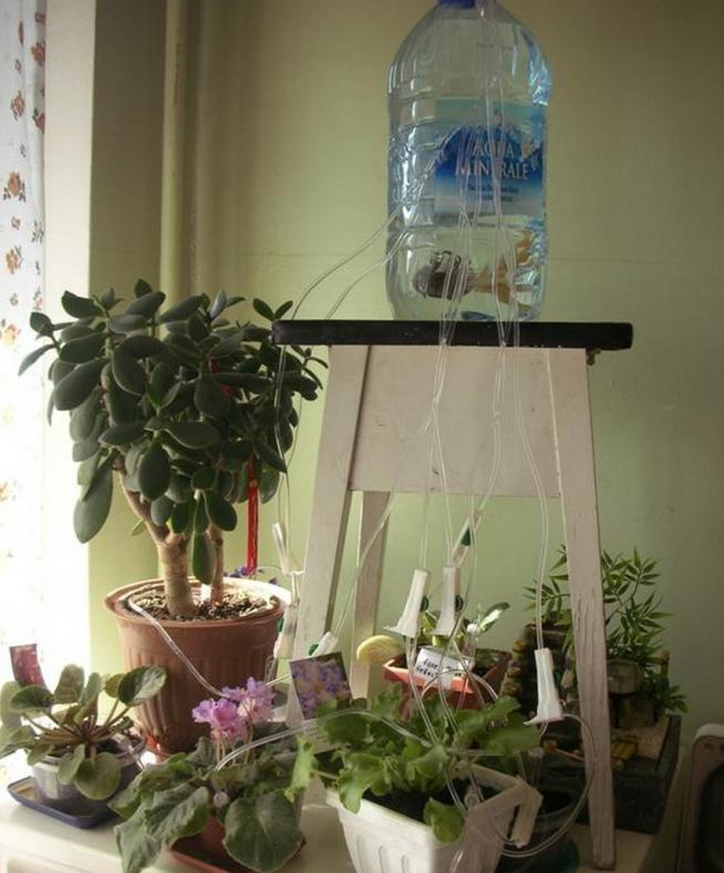 Самодельная система автоматического полива