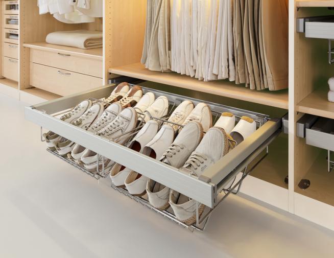 Компактная сетчатая конструкция для обуви